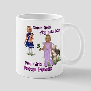 Real Girls Rescue Pitbulls Mugs