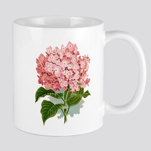 Pink hydragea flowers Mugs