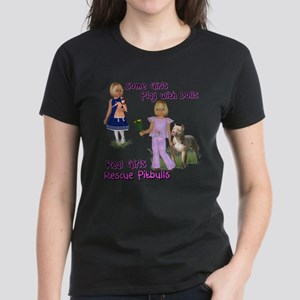 Real Girls Rescue Pitbulls T-Shirt