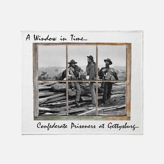 Gettysburg - Confederate Prisoners Throw Blanket