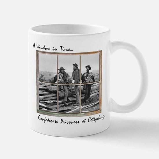 Gettysburg - Confederate Prisoners Mugs
