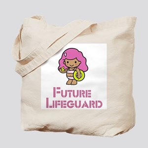 Future Lifeguard Girl Tote Bag