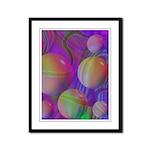 Inner Flow V Framed Panel Print