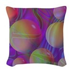 Inner Flow V Abstract Woven Throw Pillow
