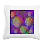 Inner Flow V Square Canvas Pillow