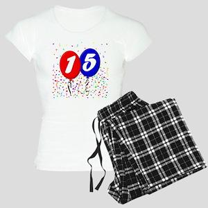 15th Birthday Women's Light Pajamas