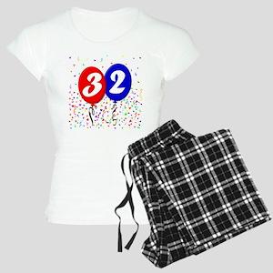 32nd Birthday Women's Light Pajamas