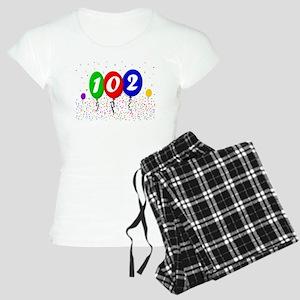 102nd Birthday Women's Light Pajamas