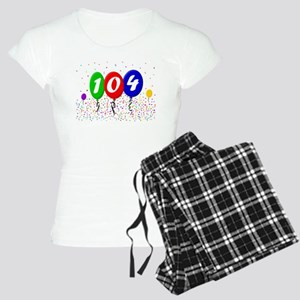 104th Birthday Women's Light Pajamas