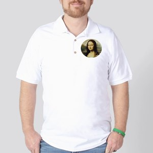 La Gioconda, Mona Lisa Golf Shirt