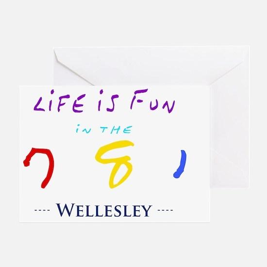 wellesley Greeting Card