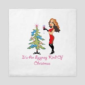 It's An Eggnog Kindof Christmas Queen Duvet