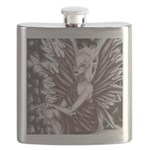 "###""Golden-Eyed Despair"" Flask"
