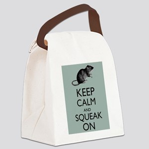 Keep Calm and Squeak On Pet Rat Humor Parody Canva