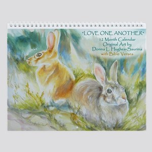 Love One Another Wall Calendar