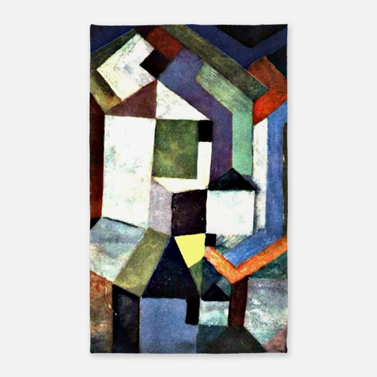 Klee - Pious Northern Landscape 3'x5' Area Rug