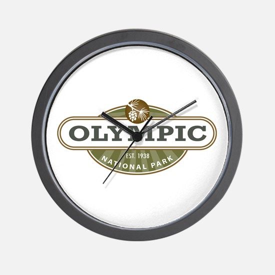 Olympic National Park Wall Clock