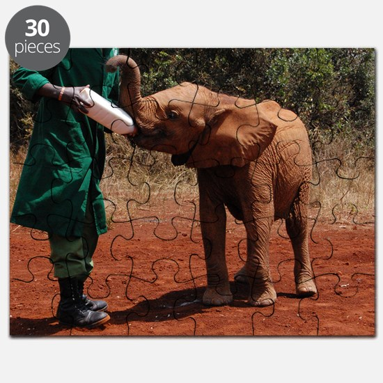 Baby Elephant2 Puzzle