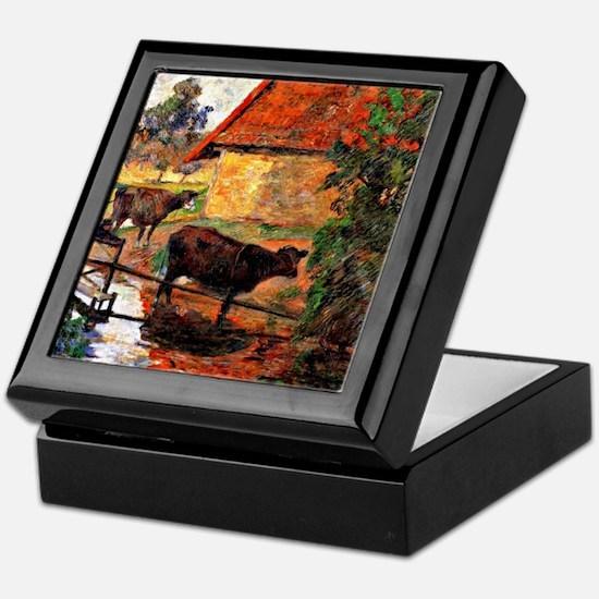 Gauguin: Watering Place Keepsake Box