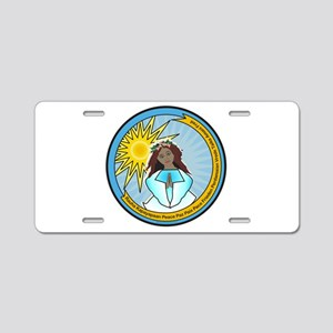 Heavenly Peace Aluminum License Plate