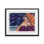 Gypsy Eyes Framed Panel Print
