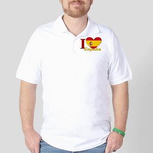 I love Espana - Spain Golf Shirt