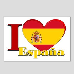 I love Espana - Spain Postcards (Package of 8)