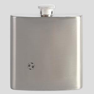 Soccer Goals White Flask