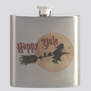 Happy Yule Flask