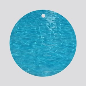 water Round Ornament