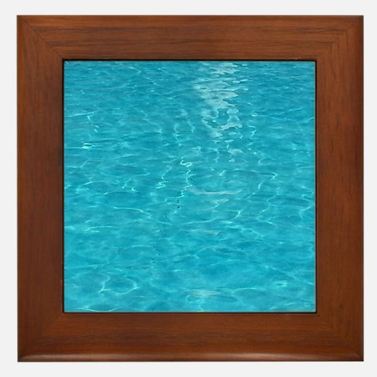 water Framed Tile
