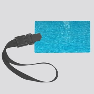 water Large Luggage Tag