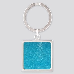 water Square Keychain