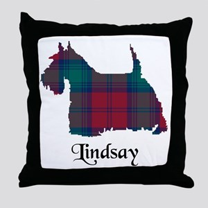 Terrier - Lindsay Throw Pillow