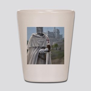 templar citadel 1 Shot Glass