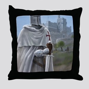 templar citadel 1 Throw Pillow