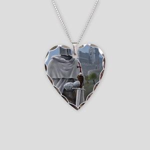 templar citadel 1 Necklace Heart Charm