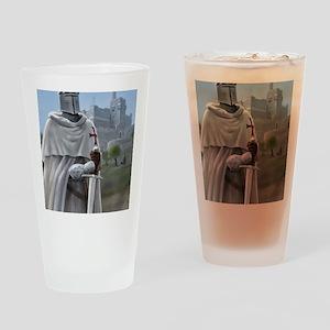 templar citadel 1 Drinking Glass
