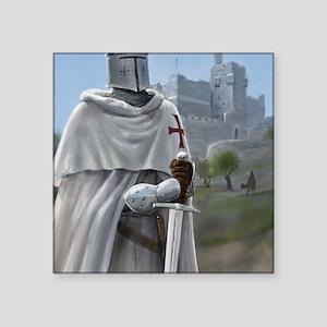 "templar citadel 1 Square Sticker 3"" x 3"""