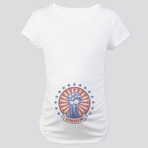 Union Fist -817 Maternity T-Shirt