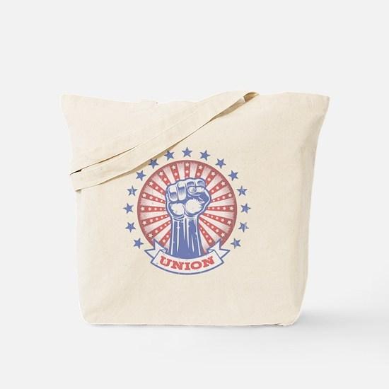 Union Fist -817 Tote Bag