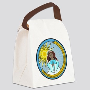 Heavenly Peace Canvas Lunch Bag