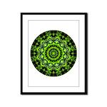 Forest Dome Mandala Framed Panel Print