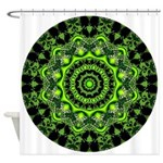 Forest Dome Mandala Shower Curtain