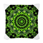 Forest Dome Mandala Woven Throw Pillow