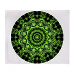 Forest Dome Mandala Throw Blanket
