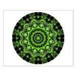 Forest Dome Mandala Small Poster