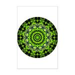 Forest Dome Mandala Mini Poster Print