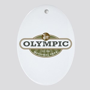 Olympic National Park Ornament (Oval)