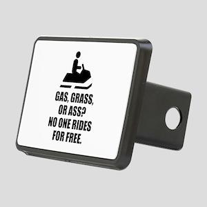Snowmobile Gas Grass Ass Hitch Cover